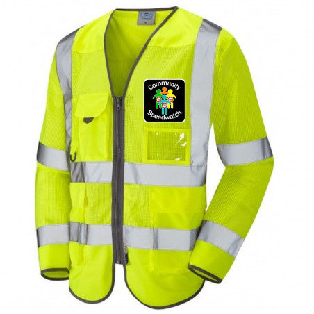 HiVis Long Sleeved Executive Vest